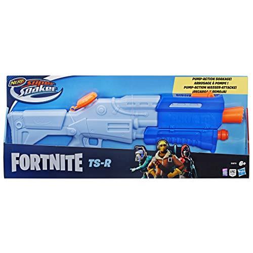 Super soaker E6876EU4 Fortnite TS-R Nerf Wasserblaster Spielzeug - Pump-Action - Kapazität von 1 L - Für Kinder, Jugendliche und Erwachsene, Mehrfarbig