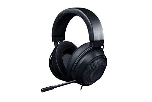 Razer Kraken – Gaming Headset (Gaming Kopfhörer für PC, PS4, Xbox One & Switch mit 50mm Treibern & kühlenden Polstern, Schwarz)