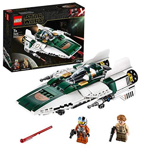 LEGO 75248 Star Wars Widerstands A-Wing Starfighter, Bauset, Mehrfarbig