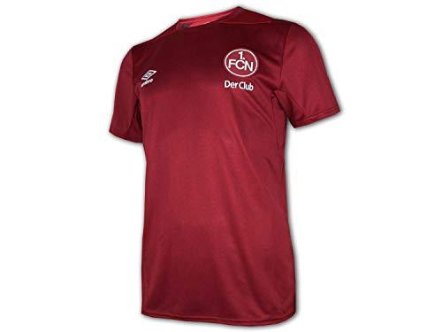 Umbro 1. FC Nürnberg Training Jersey Der Club Fan Shirt FCN Trikot Bundesliga, Größe:M