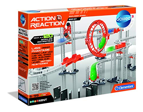 Clementoni 59126 Action & Reaction-Maxi Set, Mehrfarben