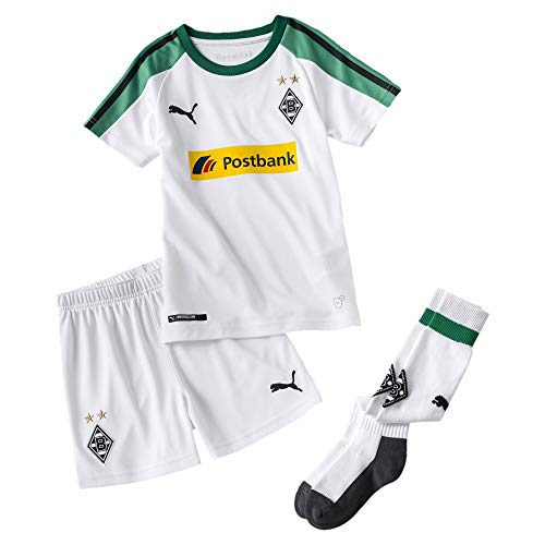 PUMA Borussia Mönchengladbach Kinder Mini Heimset Puma White 98