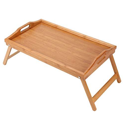 Allright Serviertablett Holz Betttablett Frühstückstablett Holztablett Frühstückstisch
