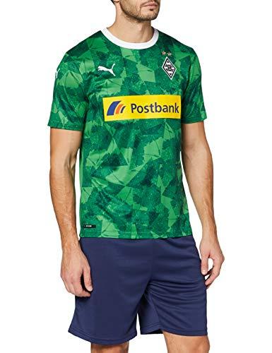 PUMA Herren BMG Third Shirt Replica with Sponsor Trikot, Amazon Green Black, M
