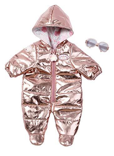 Zapf Creation 701959 Baby Annabell Deluxe Set Schneeanzug, Puppenkleidung 43 cm, metallic-look