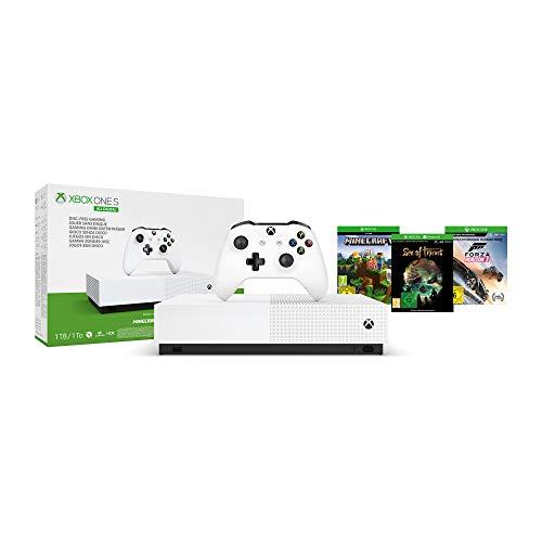 Xbox One S 1TB - All Digital Edition [Konsole ohne optisches Laufwerk]