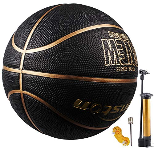 Senston Basketball Größe 7 Basketbälle Arena Training Erwachsene Anfänger Gummibasketball…