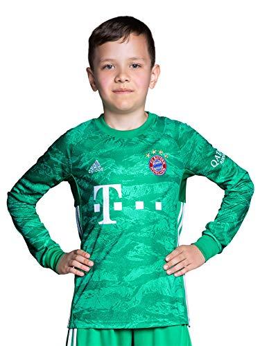 FC Bayern München Kinder Torwart Trikot 2019/20, Manuel Neuer, Größe 140