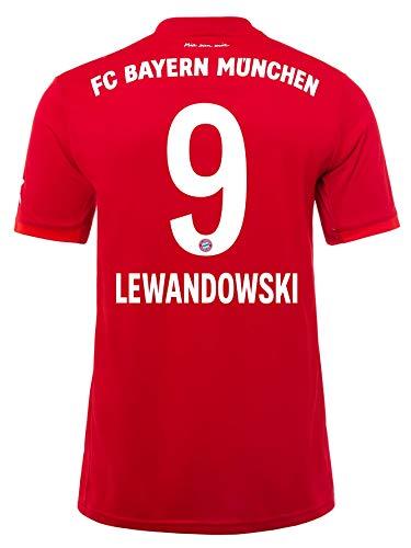 FC Bayern München Kinder Trikot Home 2019/20, Robert Lewandowski, Größe 140