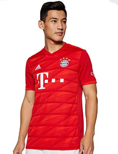 adidas Performance FC Bayern München Trikot Home 2019/2020 Herren rot, L