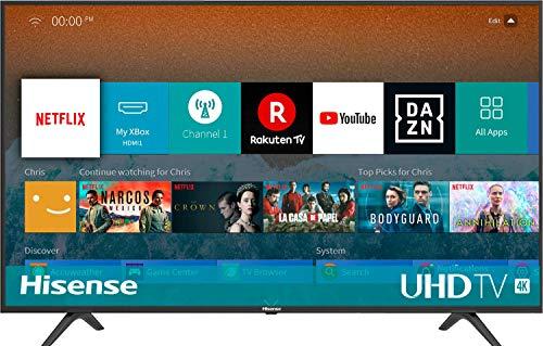 Hisense H43BE7000 108 cm (43 Zoll) Fernseher (4K Ultra HD, HDR, Triple Tuner, Smart-TV)