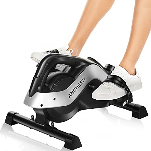ANCHEER Mini Heimtrainer, Arm- und Beintrainer Pedaltrainer, Hometrainer Fahrrad fitnessgeräte sportgerät für zuhause