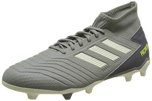 adidas Herren Predator 19.3 FG Fußballschuhe, Grün (Legacy Green/Sand/Solar Yellow Legacy Green/Sand/Solar Yellow), 44 2/3 EU
