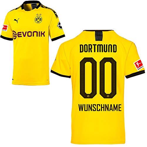 Puma Borussia Dortmund BVB Heimtrikot 2019/20 Home Trikot Sponsor BL Logo Herren Wunschname Gr L