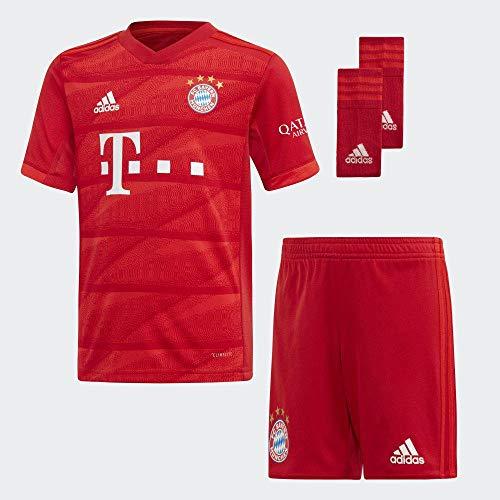 adidas Performance Kinder FC Bayern München 19/20 Heim Minikit Babyset rot 116