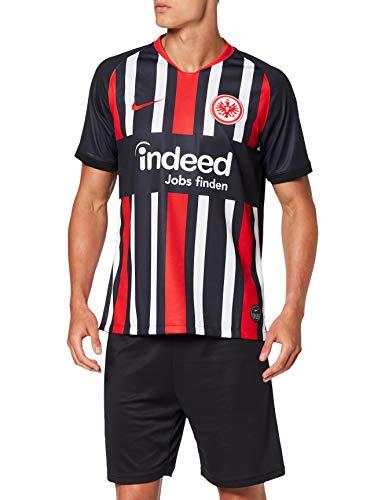 Nike Herren SGE M NK BRT STAD JSY SS HM Football T-Shirt, Black/University red Full Sponsor, S