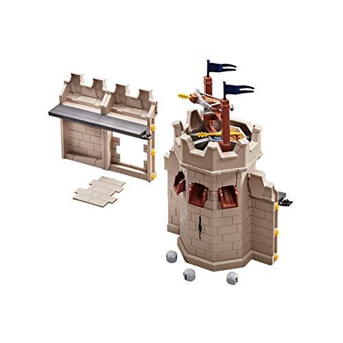 PLAYMOBIL 9839 - Mauererweiterung mit Katapult für die 70220 Große Burg von Novelmore (Folienverpackung)