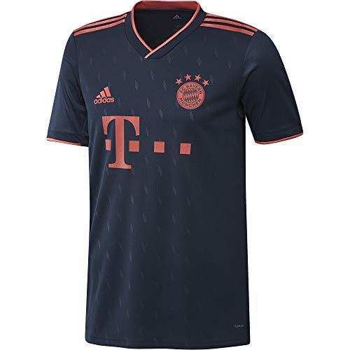 adidas Performance FC Bayern München Trikot 3rd 2019/2020 Herren dunkelblau/rot, L