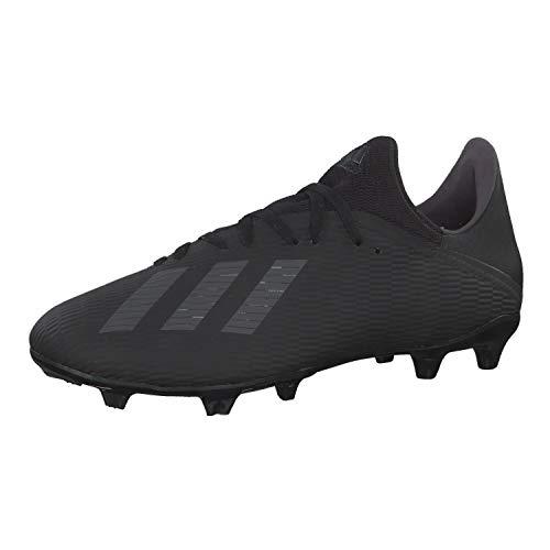 adidas Herren X 19.3 Fg Fußballschuhe, Schwarz (Core Black/Utility Black/Silver Met. Core Black/Utility Black/Silver Met.), 42 EU