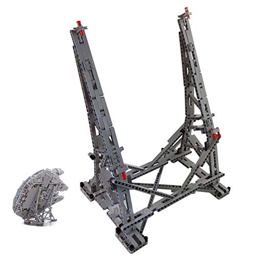 Poxl Ständer Für Millennium Falcon Modell, Vertikaler Display Stand Kompatibel Mit Lego 75192 (Lego Modell Nicht Enthalten)
