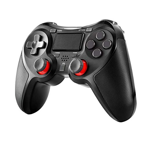 Wireless Controller für PlayStation 4, Welltop Dual Vibration Shock 4 PS4 Controller Kabelloser Gamepad Controller,Pro Game Controller Gamepad Joypad Joystick Kompatibel mit PS4, PS4 Slim, PS4 Pro