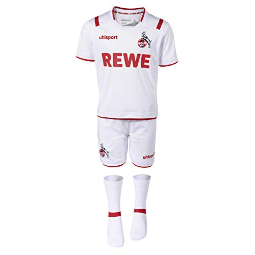 uhlsport GmbH 1.FC Köln Mini-Kit Heim 19/20 Größe 104 weiß