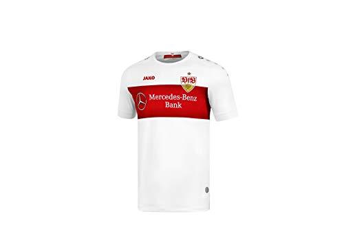JAKO Herren VfB Stuttgart Home Trikot, weiß, L