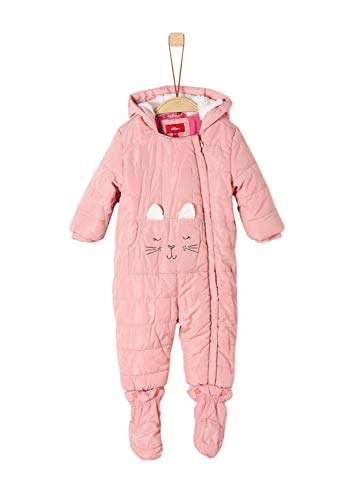 s.Oliver RED LABEL Unisex - Baby Winter-Overall mit Hasenmotiv light pink 86