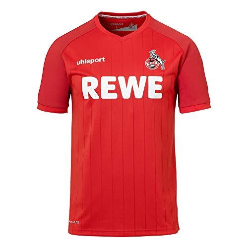 uhlsport Herren Fc Köln 19/20 Ka Away Trikot, rot, L