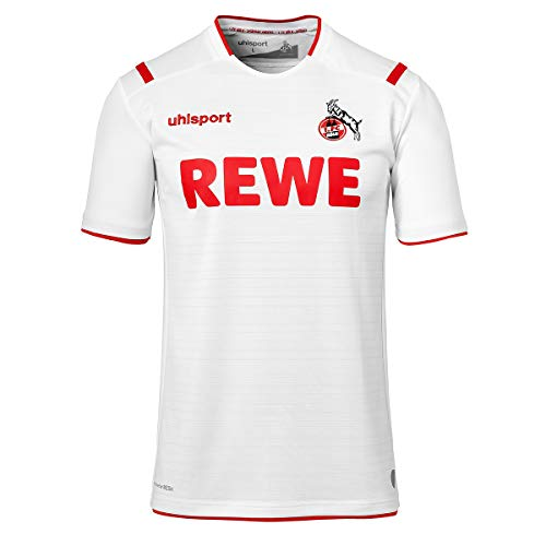 uhlsport 1. FC Köln Trikot Home 2019/2020 Herren weiß/rot, XL