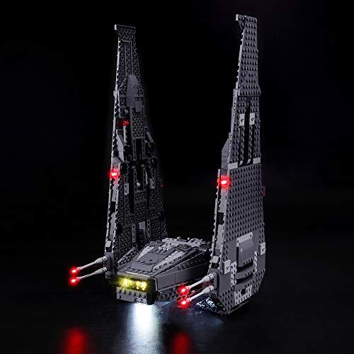 BRIKSMAX Led Beleuchtungsset für Lego Star Wars Kylo Ren\'s Command Shuttle, Kompatibel Mit Lego 75104 Bausteinen Modell - Ohne Lego Set