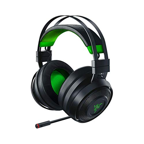 Razer Nari Ultimate for Xbox One – Wireless Gaming Headset (Kabellose HyperSense Kopfhörer, Ohrpolster mit Kältegel, THX Spatial Audio, Windows Sonic & RGB Chroma Beleuchtung)
