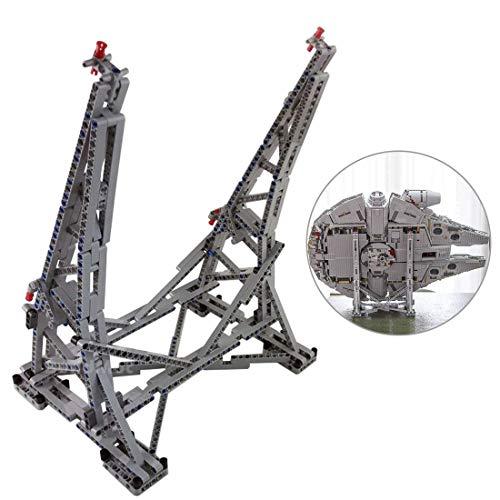 BANDRA Halterung Ständer für Lego 75192 - Star Wars Millennium Falcon Bauspielzeug (Nicht enthalten Das Lego-Modell)