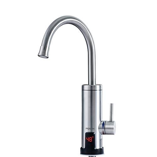 PUDIN,Neu Edelstahl Elektrische Wasserhahn,LEDTemperaturanzeige Küchenarmatur