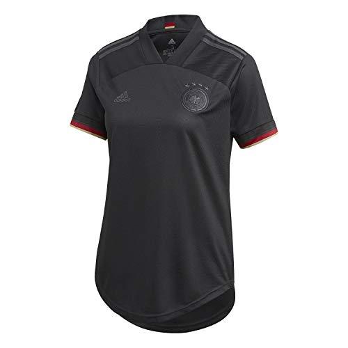 adidas Damen DFB A JSY W T-Shirt, Black, M
