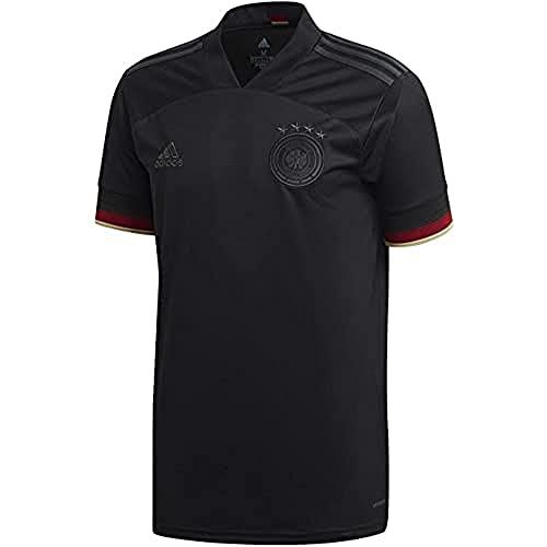 adidas Mann DFB A JSY Trikot Away, Black/Carbon, L