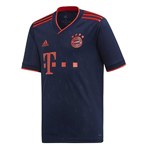 adidas Performance FC Bayern München Trikot 3rd 2019/2020 Kinder dunkelblau/rot, 164