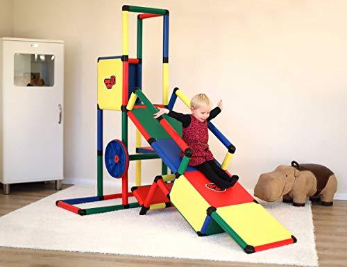Quadro   Evolution   Klettergerüst für drinnen und draußen   Fördert Entwicklung von Kindern   Beliebig modular & erweiterbar   6 Jahre Garantie   Ab 1 bis 6 Jahren