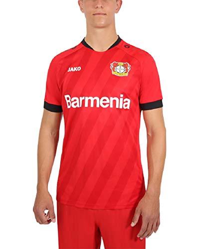 JAKO Kinder Home, (Saison 19/20) Bayer 04 Leverkusen Trikot, rot, 128