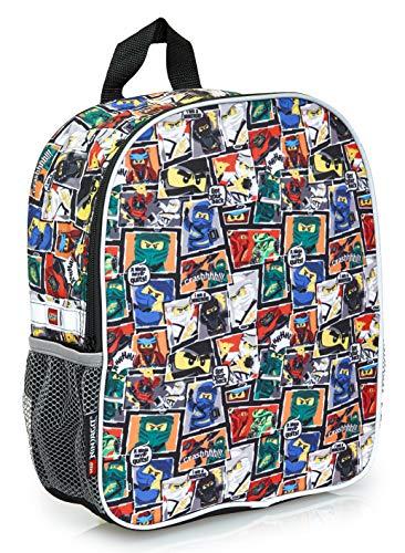 Lego Ninjago Kinderrucksack Für Jungen   Junior Rucksack Für Kinder   Schultasche Für Kinder   Ninja Druckmedium Rucksack