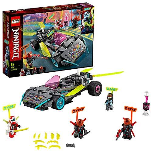 LEGO 71710 NINJAGO Ninja-Tuning-Fahrzeug mit Spreizklingen, Bauset