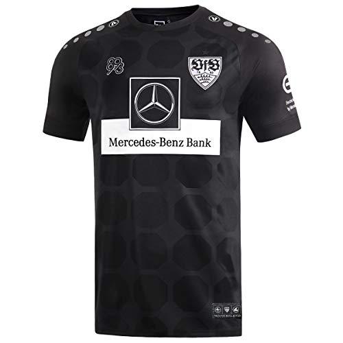 JAKO Herren VfB Stuttgart Ausweich Trikot, schwarz, M