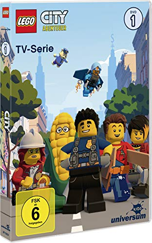 Lego City Abenteuer - TV-Serie, DVD 1