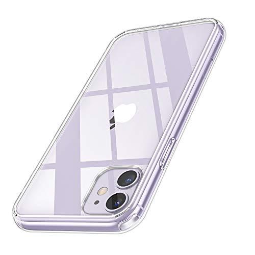 Hülle für iPhone 11, Syncwire Transparent Kratzfest Schutzhülle, Anti-Gelb Luftkissen Fallschutz Silikon Handyhülle mit Robuster Harte-PC Rückseite