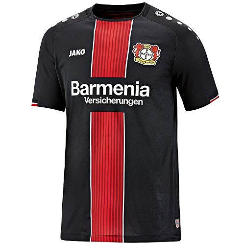 JAKO Kinder Away, (Saison 19/20) Bayer 04 Leverkusen Trikot, schwarz, 128