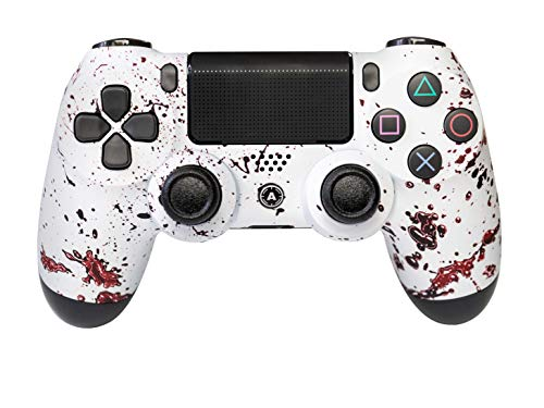 AimControllers PS4 Custom Wireless Controller, PlayStation 4 Personalized Gamepad with 4 Paddles, Dexter [video game]
