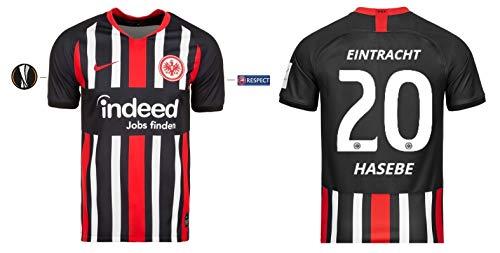 Eintracht Frankfurt Trikot Herren 2019-2020 Home UEL - Hasebe 20 (S)