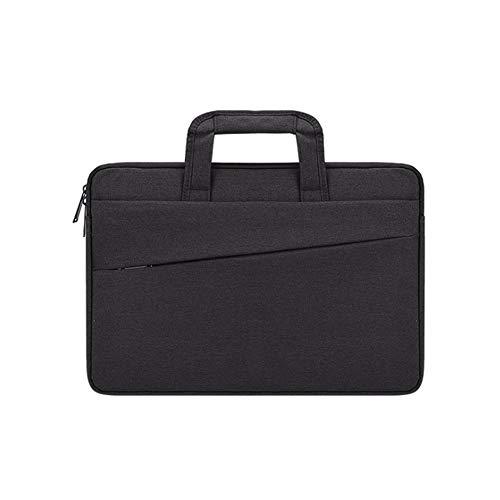 """Laptop Tasche 11-15.6 Zoll Notebooktasche Aktentasche Tasche Wasserabweisend Bussiness Laptoptasche für Frauen und Männer,Schwarz,15.4\"""""""