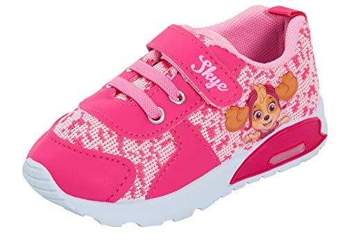 Paw Patrol Mädchen Sportschuhe für Kinder, Kleinkinder, blinkende Lichter, Pink - rose - Größe: 22 EU
