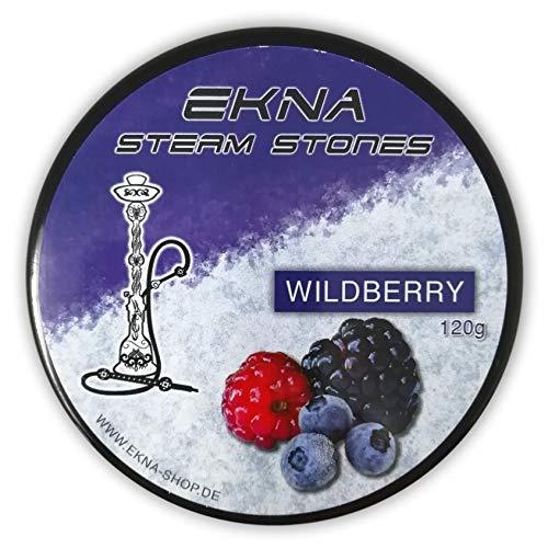 EKNA® SteamStones Wildbeeren 120g - Dampfsteine ohne Teer & Nikotin - Die Wasserpfeifen Tabak Alternative!